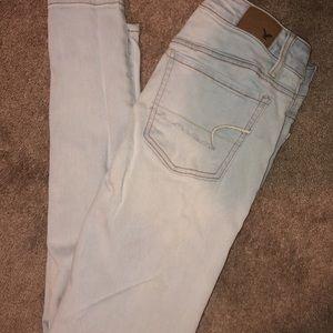 Jeans American eagle super stretch